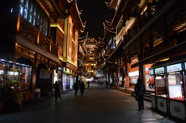 All shops were open despite the lack of tourists.