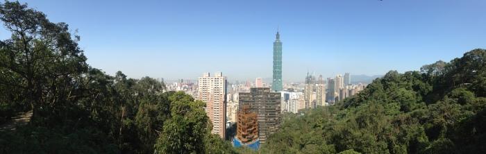 Taipei 101 Xiangshan View