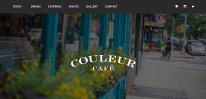 Couleur Cafe Website